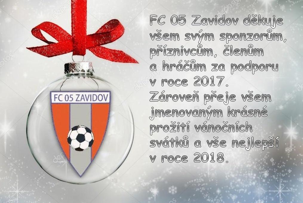Zavidov přeje všem krásné svátky a šťastný Nový rok!